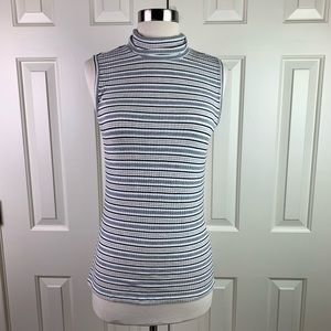 Christian Siriano Sleeveless Turtleneck Medium